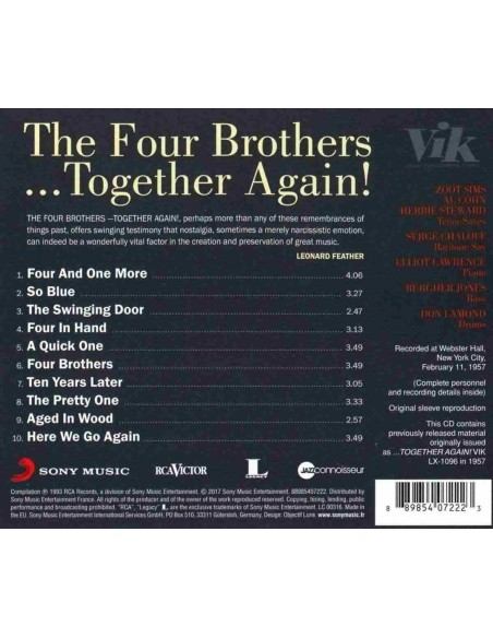 Together Again!. Jazz Connoisseur (1 CD)