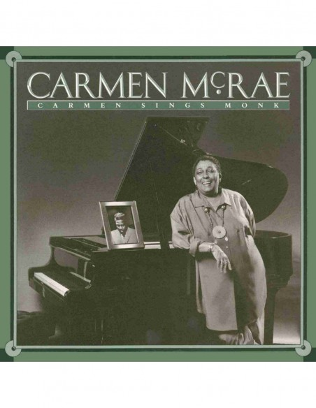 Carmen Sings Monk. Jazz Connoisseur (1 CD)