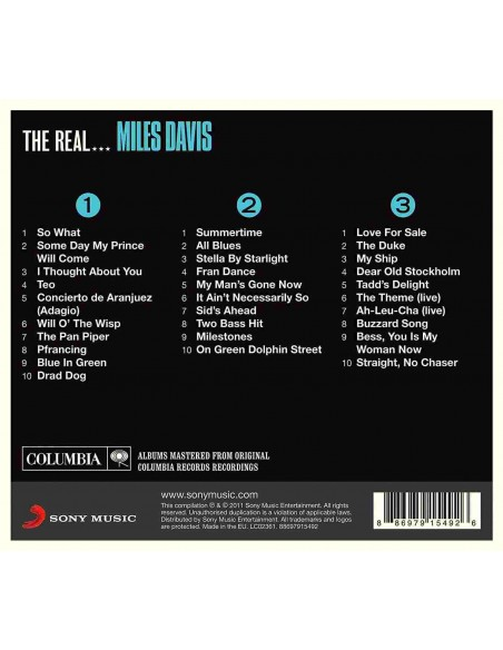 The Real Miles Davis (3 CD)