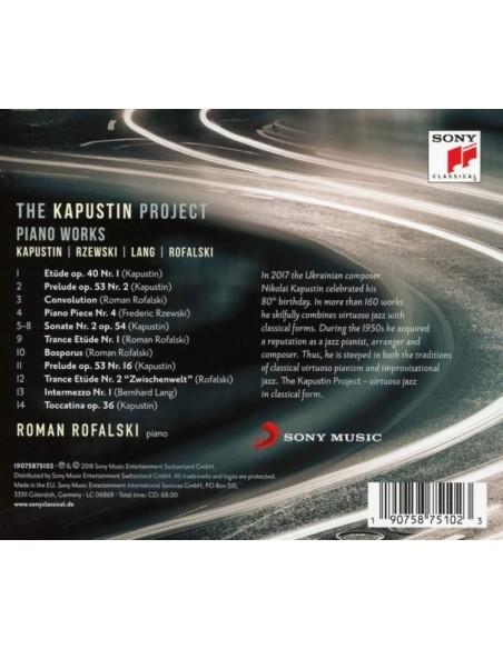 The Kapustin Project (1 CD)