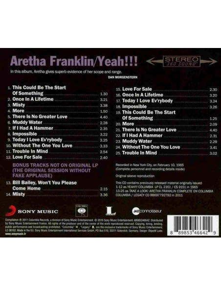 Yeah!!!. Jazz Connoisseur (1 CD)