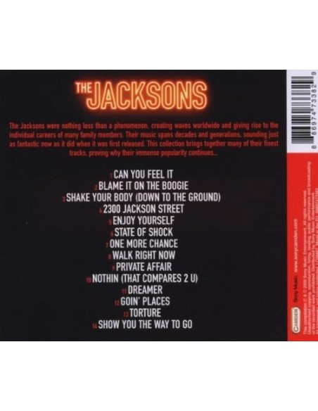 Can You Fell It: The Jacksons Collectio (1 CD)