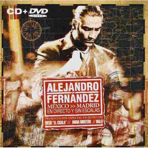 Mexico Madrid En Directo Y Sin Escalas (1 CD+1 DVD)