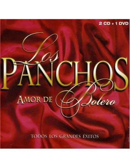 Amor De Bolero Todos Los Grandes Exitos (2 CD+1 DVD)