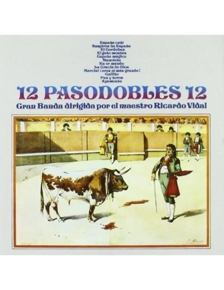 12 Pasodobles 12 (1 CD)