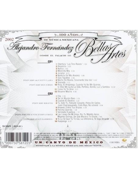 Un Canto De Mexico:Alejandro Fernandez E (2 CD)
