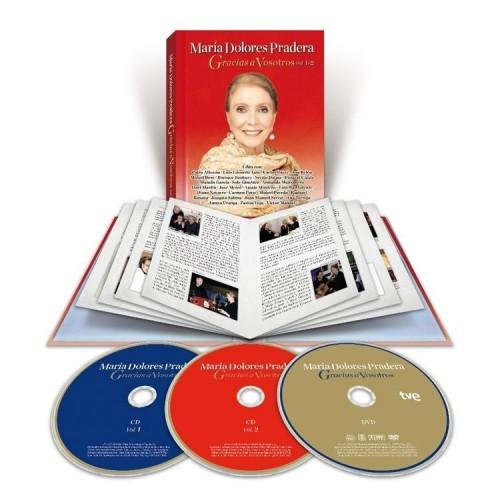 Gracias a Vosotros Vol. 1 y 2 (2 CD+1 DVD Ed.Libro)