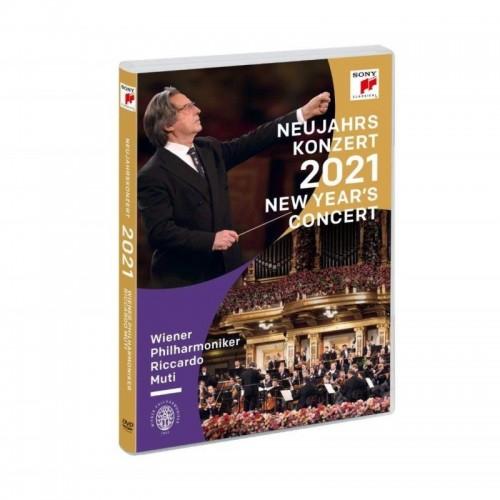Concierto De Año Nuevo 2021 (1 DVD)