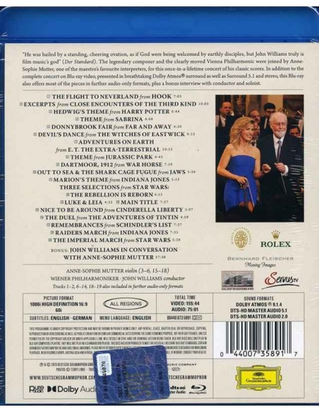 John Williams in Vienna (1 Blu-ray)