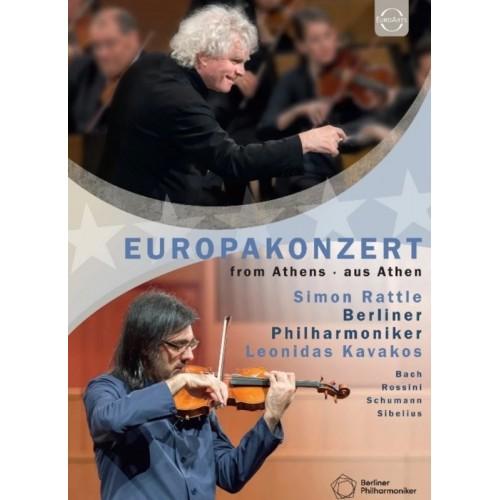 Europakonzert 2015 From Athens. Aus Athen (9 DVD)