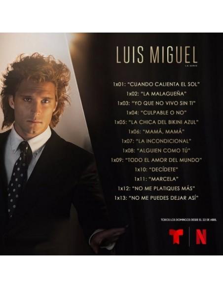 Luis Miguel La Serie (1 CD)