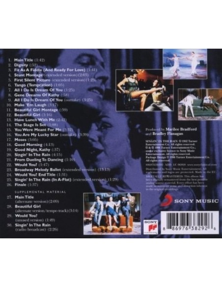 Cantando Bajo La Lluvia (1 CD)