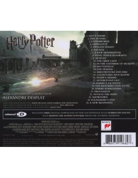 Harry Potter - The Deathly Hallows Part II. Original Motion