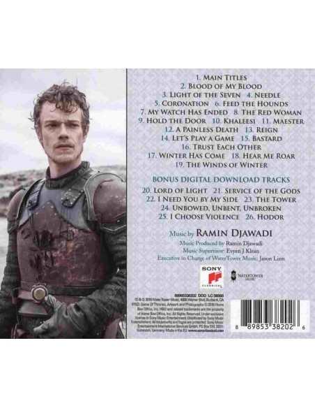 Game Of Thrones (Music From The Hbo Series - Season 6) (1 CD)