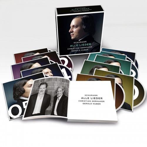Schumann: Alle Lieder (11 CD)