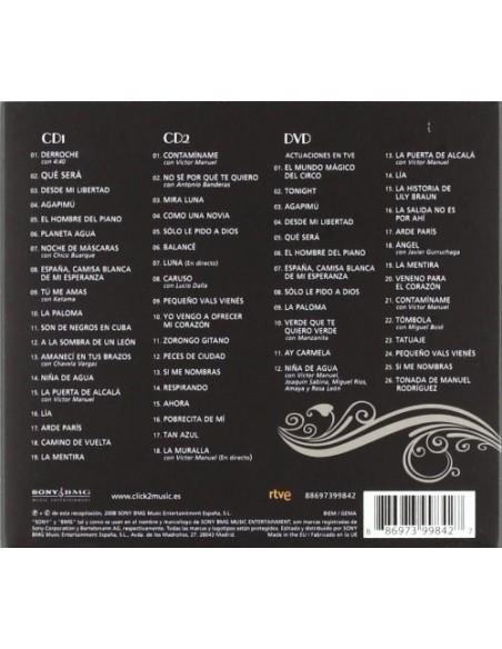 Los Grandes Exitos...Y Mas (2 CD+1 DVD)