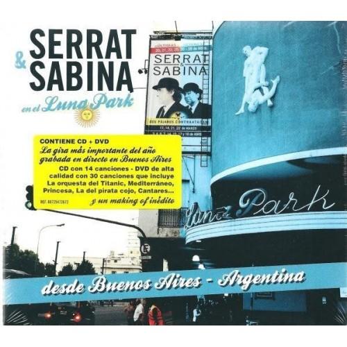 Serrat & Sabina (En El Luna Park - Argentina) (1 CD+1 DVD)