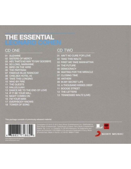 The Essential Leonard Cohen (2 CD Digibook)