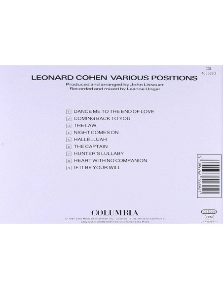 Various Positions (1 CD)
