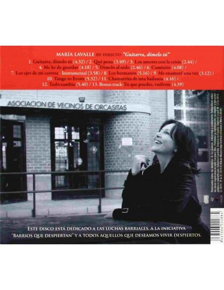 Guitarra, Dímelo Tú (1 CD)