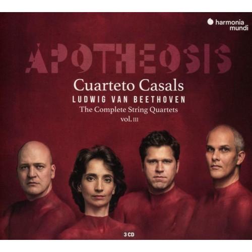 Cuarteto Casals. Apotheosis. Complete Quartets V. 3 (3 CD)