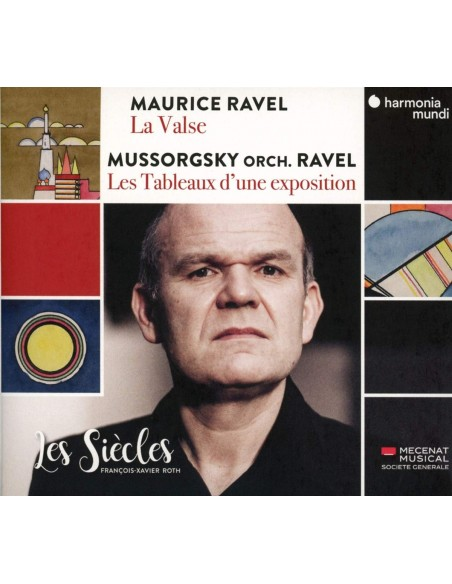 Ravel La Valse & Mussorgsky Tableau (1 CD)