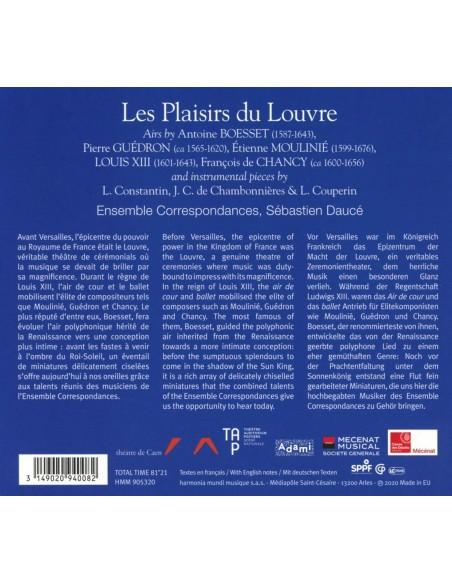 Les Plaisirs Du Louvre Airs Pour La Chambre De Louis XIII (1 CD)
