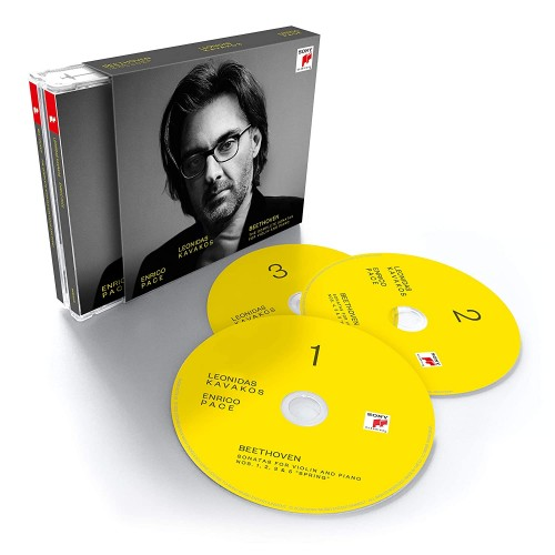 Beethoven: The Complete Sonatas For Violin And Piano (3 CD)