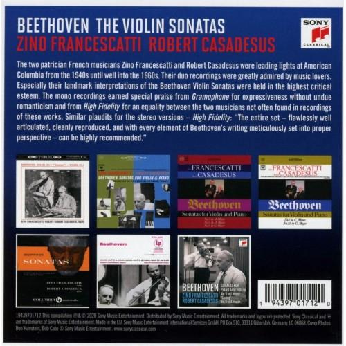 Francescatti & Casadesus - Beethoven Sonatas (7 CD)
