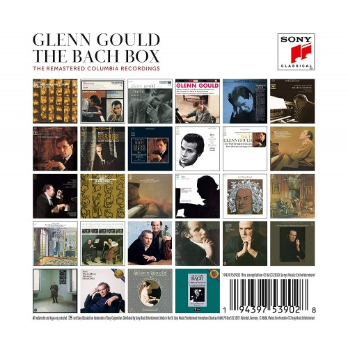 Glenn Gould: The Bach Box - The Remastered Columbia Recordings