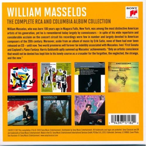 William Masselos - The Complete Rca And Columbia Album