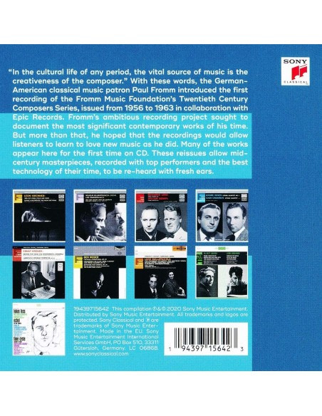 Fromm Music Foundation Twentieth Century Composer Series (10 CD)