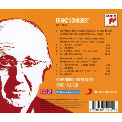 Kammerorchester Basel & Heinz Holliger (1 CD)