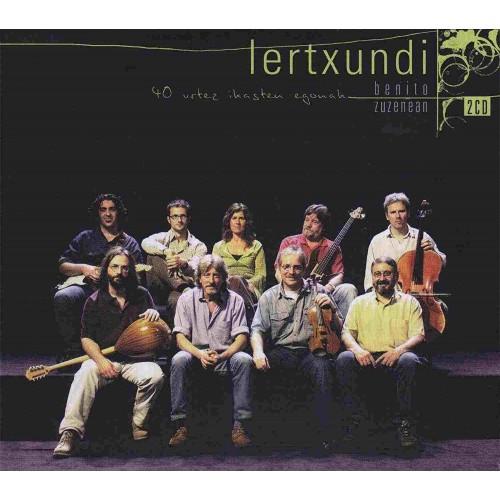 40 Urtez Ikasten Egonak - Zuzenean (1 CD)