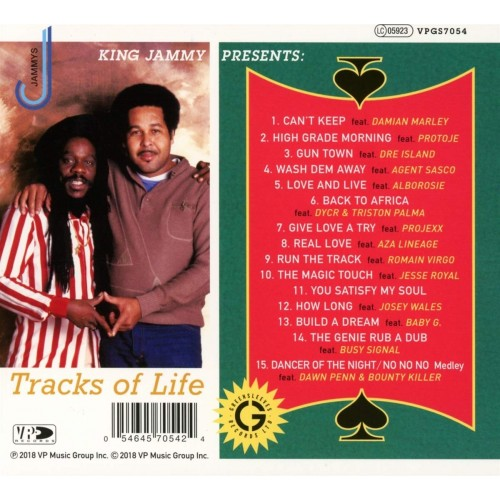 Tracks Of Life: King Jammy Presents (1 CD)