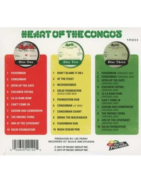 Heart Of The Congos ( 40 Th Anniverssary ) (3 CD)