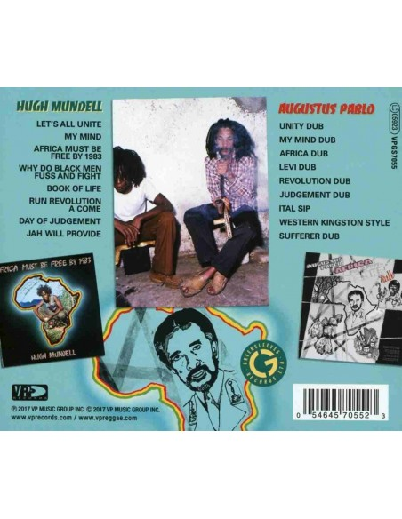 Africa Must Be Free By 1983 Dub (1 CD)