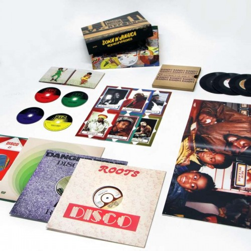Down In Jamaica: 40 Year Of Vp Records (BOX SET (4 CD+4 LP+4