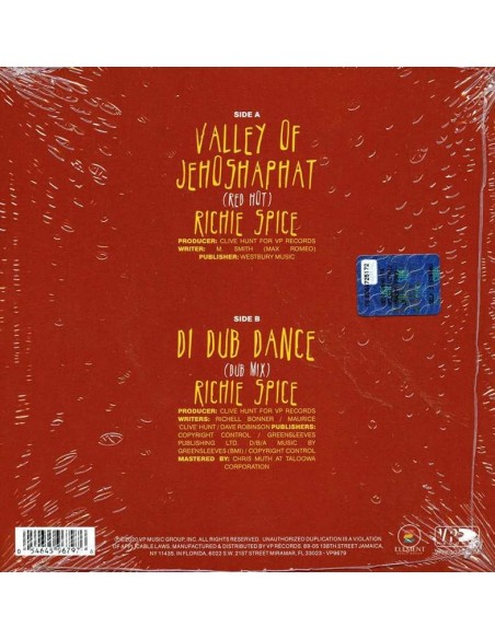 "Valley Of Jehoshaphat (1 Single EP 7"" Limited)"