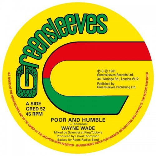 """Poor And Humble / Babylonian (1 LP 12"""" Extended)"""