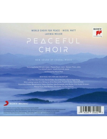 Peaceful Choir - New Sound Of Choral Music (2 CD)
